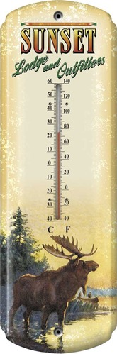 1566-Moose-Lodge TinThermometer