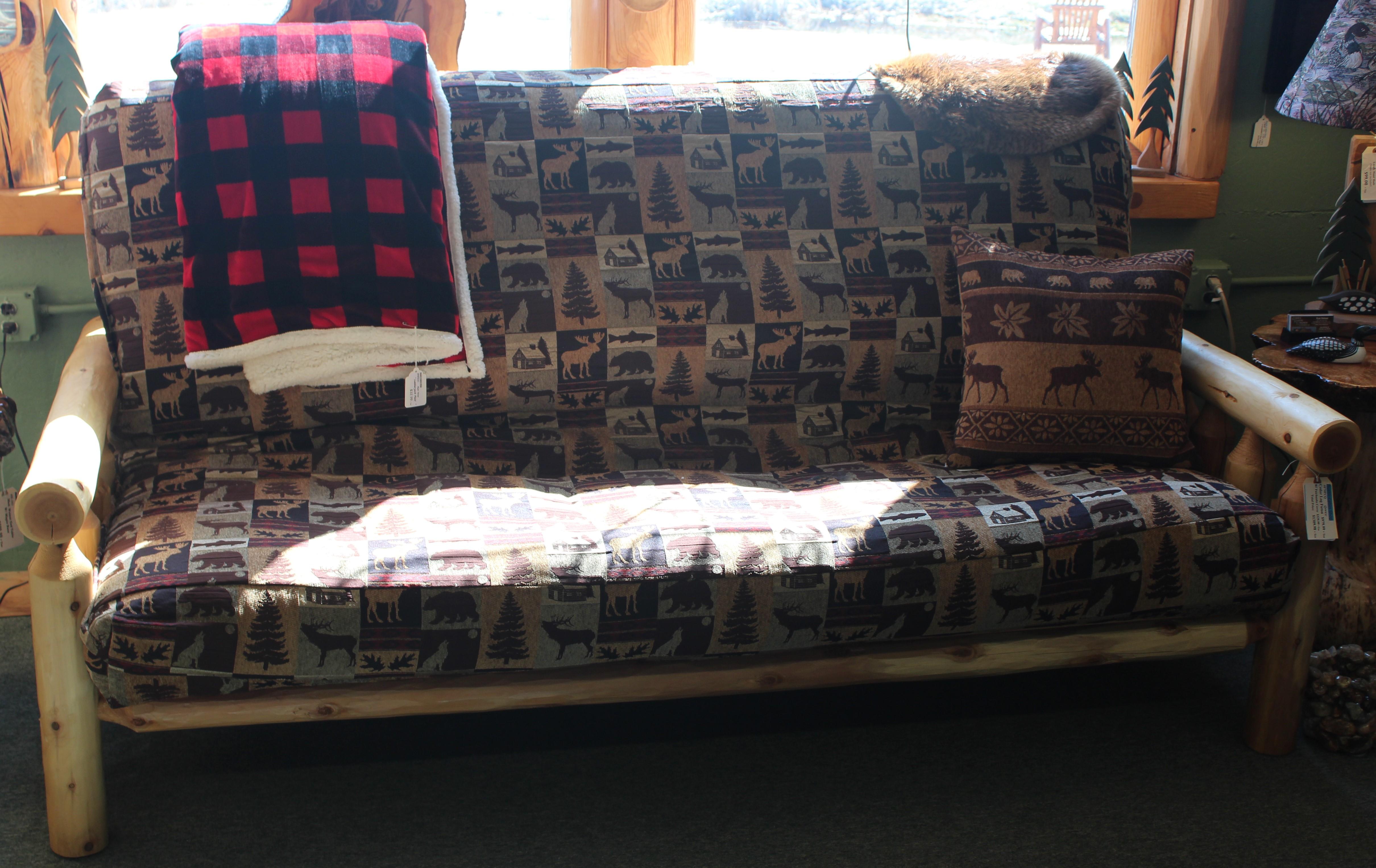 log futon